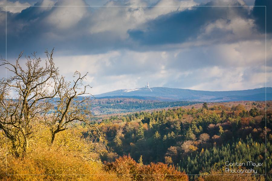 Bad Camberg - Erbach (Lindchen), Blick auf den Feldberg