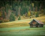 Hütte am Geroldsee