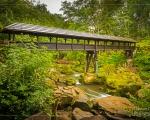 Holzbrücke über die Irreler Wasserfälle (im Shop verfügbar)