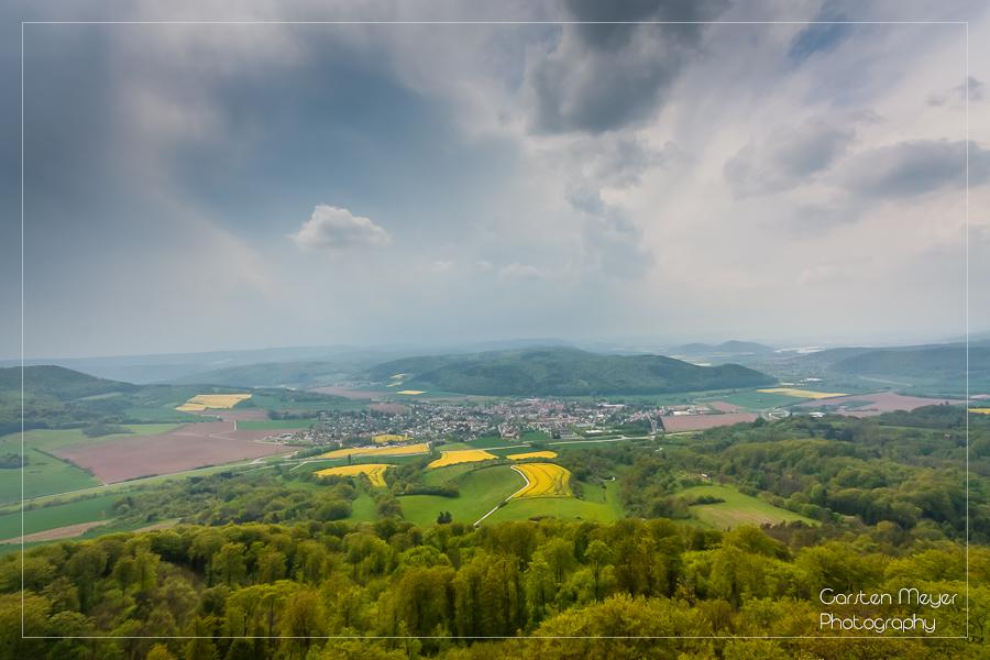 Blick vom Plesseturm