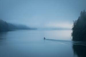 Der Königssee am frühen Morgen