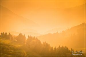 Sonnenuntergang im Schwarzwald