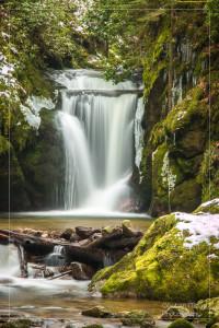 Der Geroldsauer Wasserfall in der Nähe von Baden-Baden