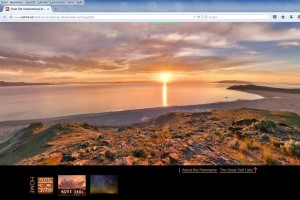 Screenshot des 360°-Panoramas im Browser.